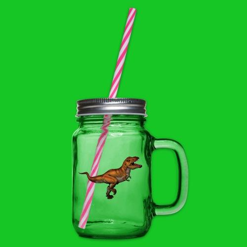 Tyrannosaurus Rex - Drinkbeker met handvat en schroefdeksel