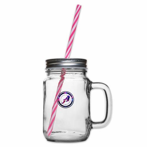 Limited Edition Logo - Henkelglas mit Schraubdeckel