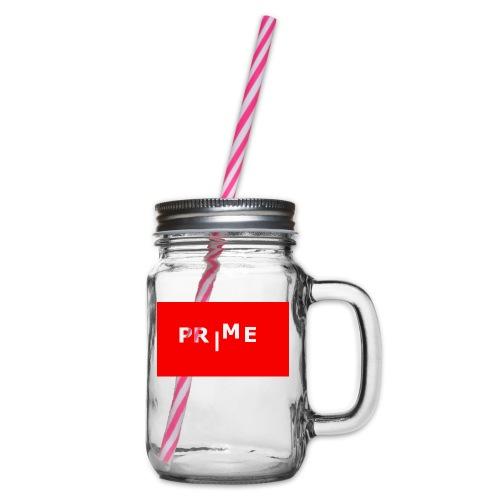 PR|ME - Glas med handtag och skruvlock