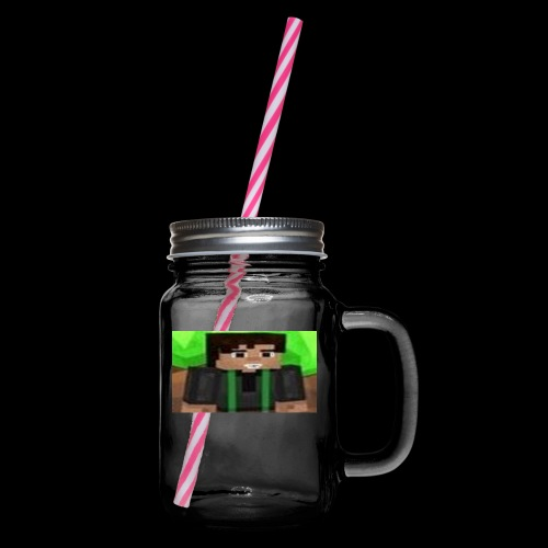 EnZ PlayZ Profile Pic - Glass jar with handle and screw cap