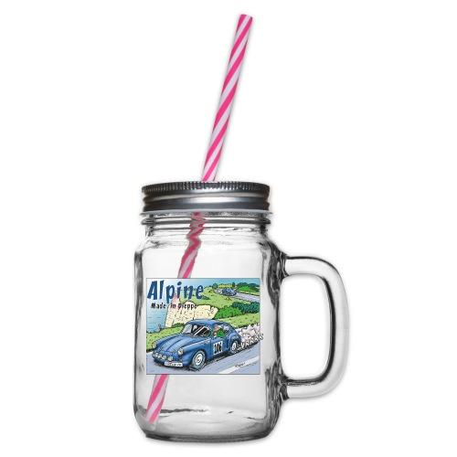 Polete en Alpine 106 - Bocal à boisson