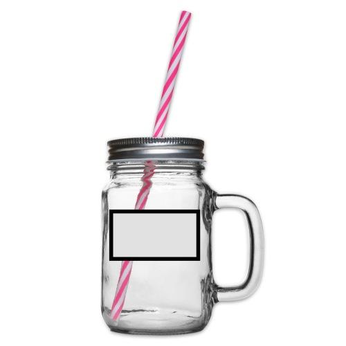 blackbox - Henkelglas mit Schraubdeckel