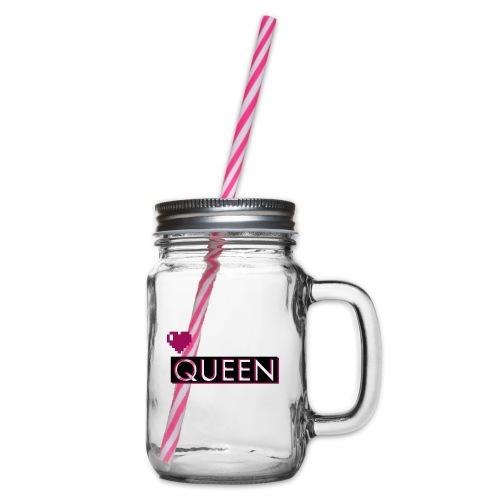 Queen, la regina - Boccale con coperchio avvitabile