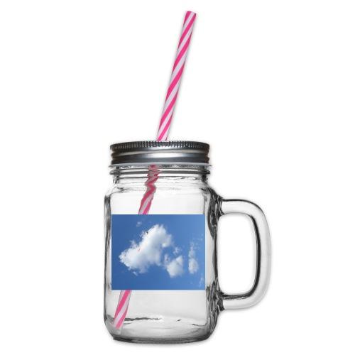 Himel - Henkelglas mit Schraubdeckel