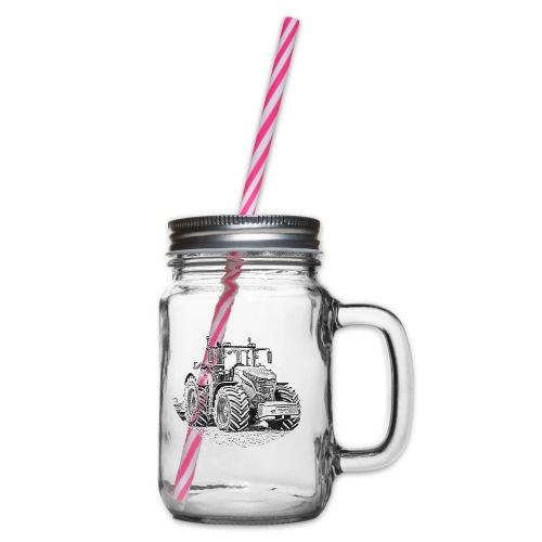 Ackergigant - Henkelglas mit Schraubdeckel