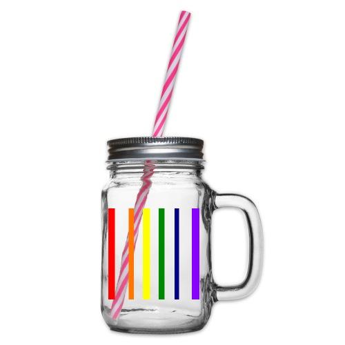 UNSCALABLE - Henkelglas mit Schraubdeckel