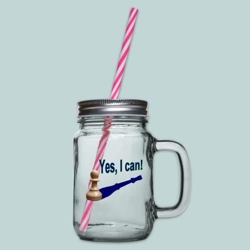 Yes, I can! 1 - Henkelglas mit Schraubdeckel