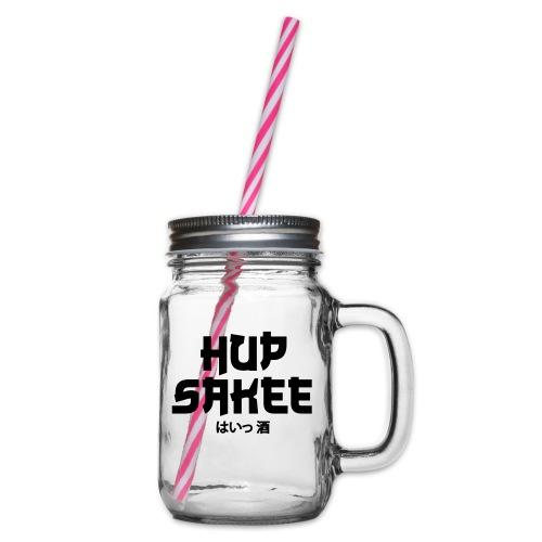 Hup Sakee - Drinkbeker met handvat en schroefdeksel