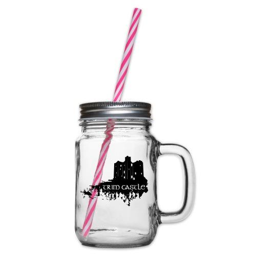 Legend_-_Trim_Castle - Glass jar with handle and screw cap