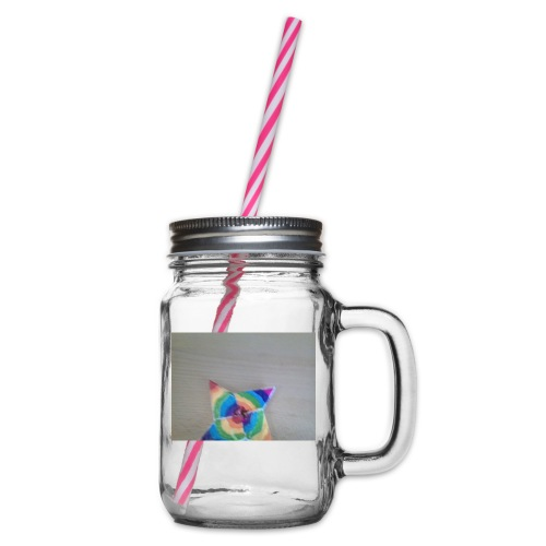 ck stars 2017 - Glass jar with handle and screw cap