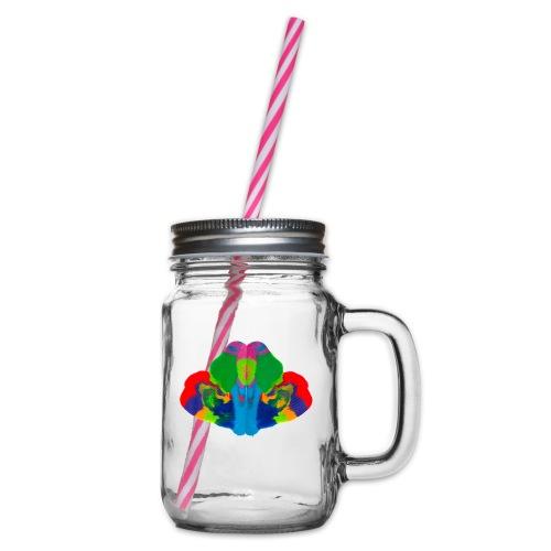 9103 Motiv 99 - Henkelglas mit Schraubdeckel