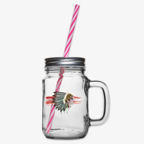 Native american - Bocal à boisson