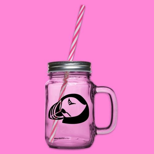 papagaaiduiker - Drinkbeker met handvat en schroefdeksel