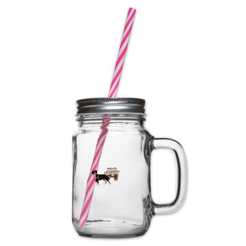 Grosser Drag - Glas med handtag och skruvlock