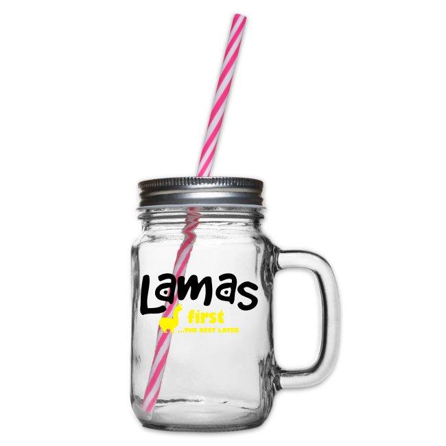 Lamas first 2 farbig