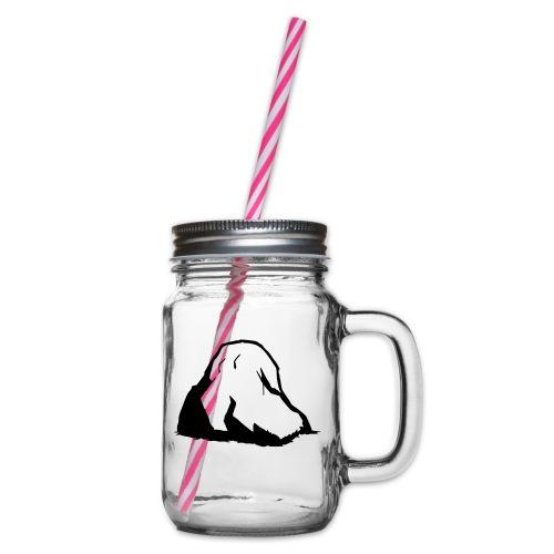 Boulder - Henkelglas mit Schraubdeckel