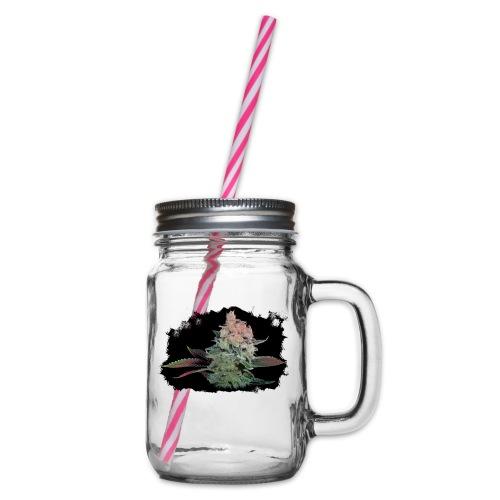 Pflänzchen png - Henkelglas mit Schraubdeckel