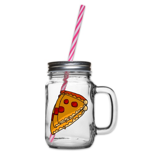 pizza - Drikkekrus med skruelåg