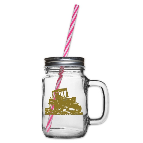 JD3130 - Glass jar with handle and screw cap