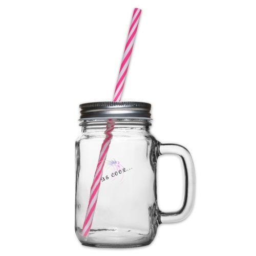 BE_COOL - Glas med handtag och skruvlock