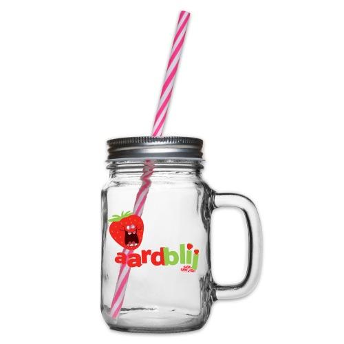 aardblij - Drinkbeker met handvat en schroefdeksel