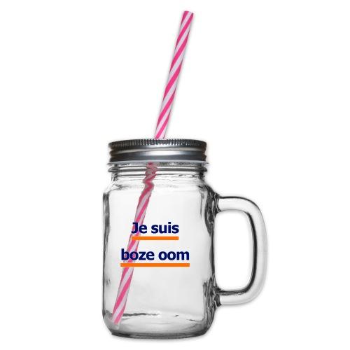 boze oom - Drinkbeker met handvat en schroefdeksel