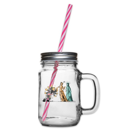 I Got This - Glass jar with handle and screw cap