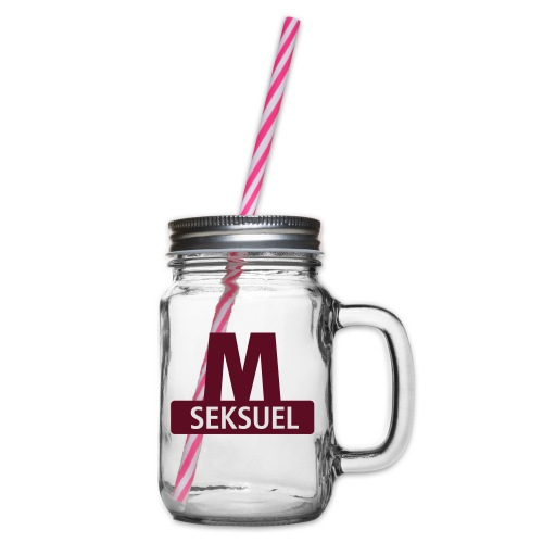 Metroseksuel - Drikkekrus med skruelåg