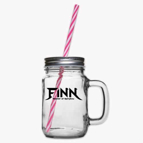 Finn - Master of Spinjitzu - Henkelglas mit Schraubdeckel