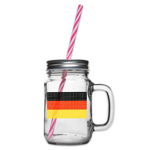 german flag.png - Boccale con coperchio avvitabile