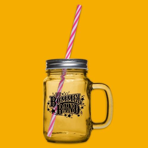 bb logo - Drinkbeker met handvat en schroefdeksel