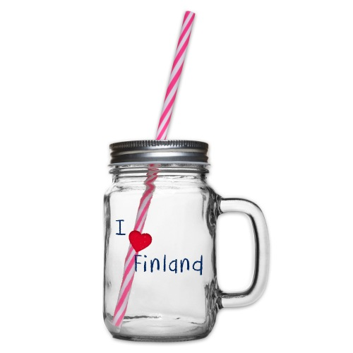 I Love Finland - Lasimuki kierrekannella