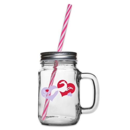 Lévrier Valentin - Bocal à boisson