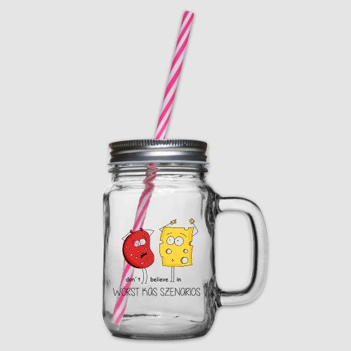 Woerst Kaes Szenarios - Henkelglas mit Schraubdeckel