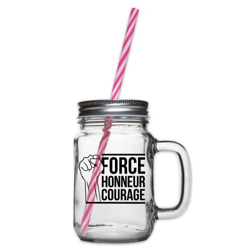 Force Honneur Courage - Bocal à boisson