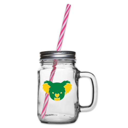 koala - Glass jar with handle and screw cap