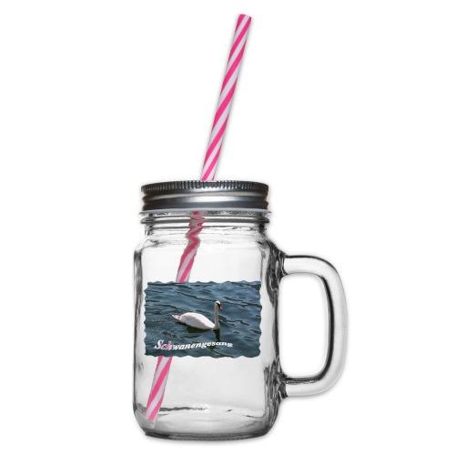 Schwanengesang - Henkelglas mit Schraubdeckel