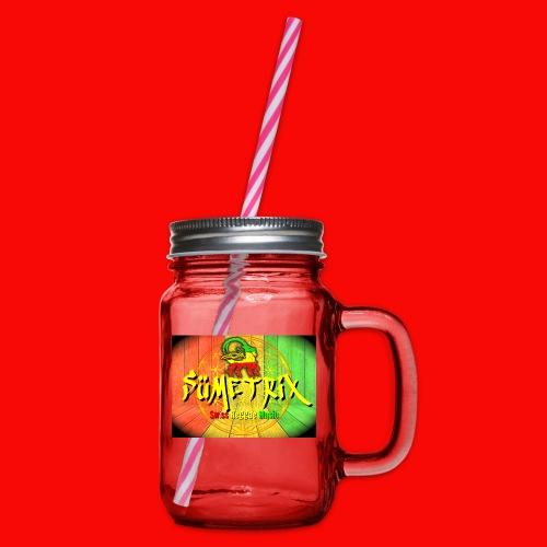 SÜMETRIX FANSHOP - Henkelglas mit Schraubdeckel
