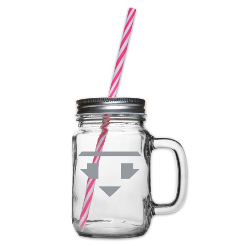 Twanneman logo Reverse - Drinkbeker met handvat en schroefdeksel