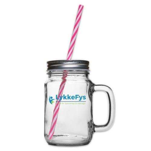 Lykkefys Esbjerg - Drikkekrus med skruelåg