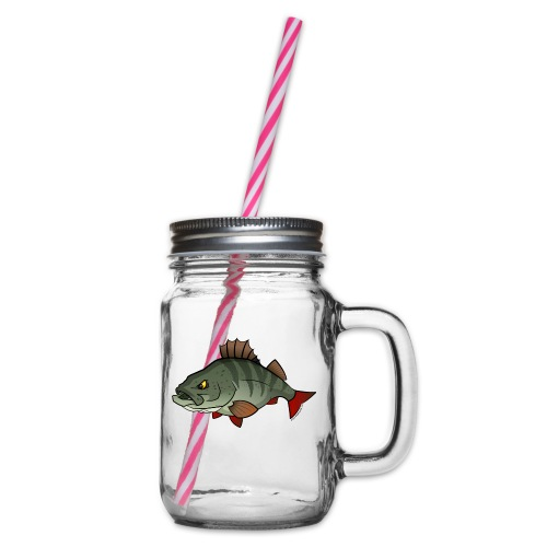 Red River: Perch - Glass jar with handle and screw cap