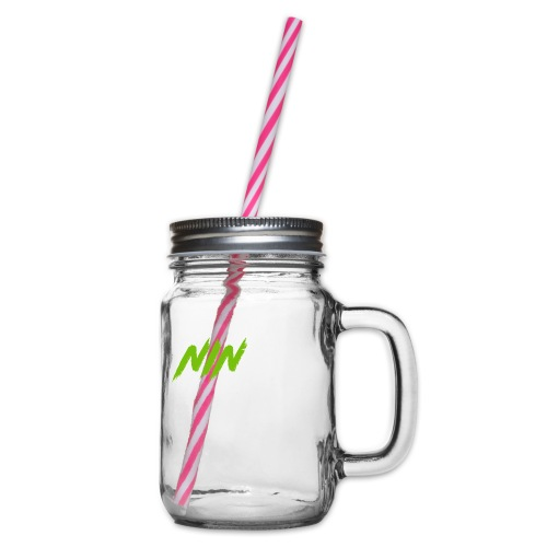 Tricou Basic - Glass jar with handle and screw cap