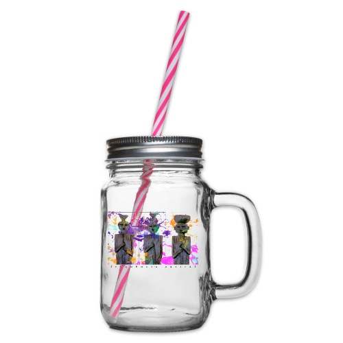 Passo Centurion (w) - Glass jar with handle and screw cap