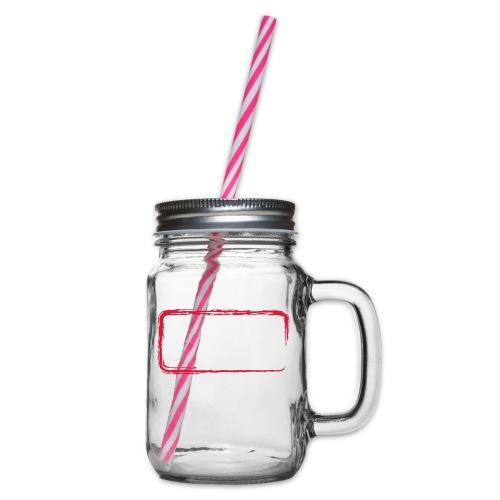 Rahmen_01 - Henkelglas mit Schraubdeckel
