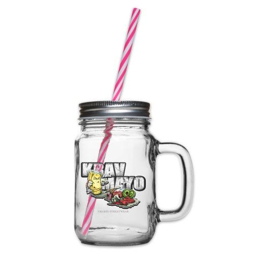 Krav Mayo - Henkelglas mit Schraubdeckel