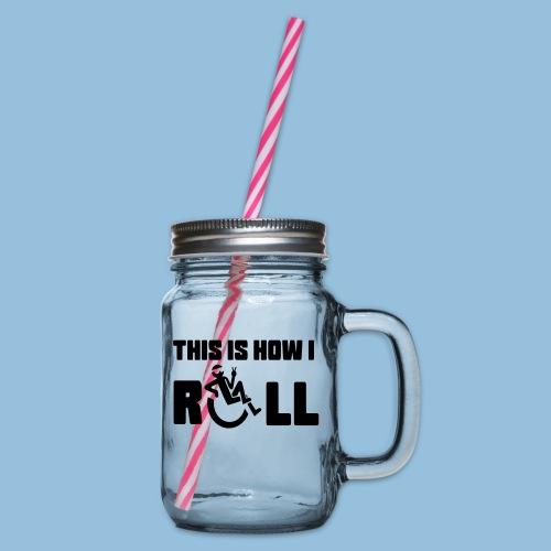 This is how i roll 006 - Drinkbeker met handvat en schroefdeksel