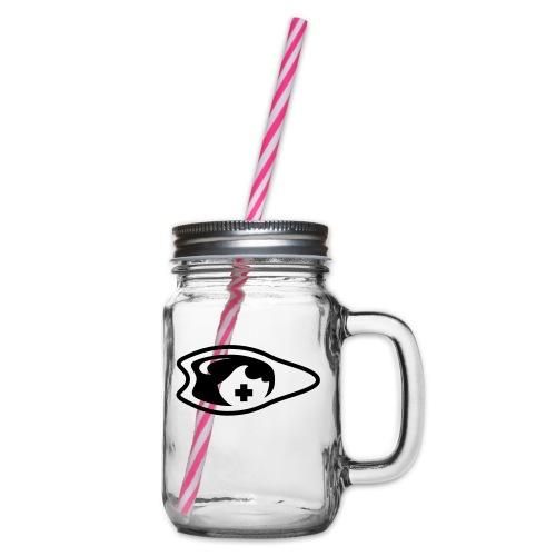 palme oeil lunette - Bocal à boisson