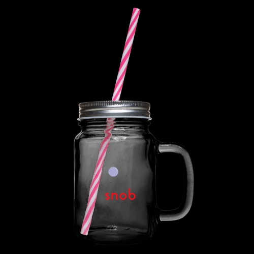NUOVO3 png - Glass jar with handle and screw cap