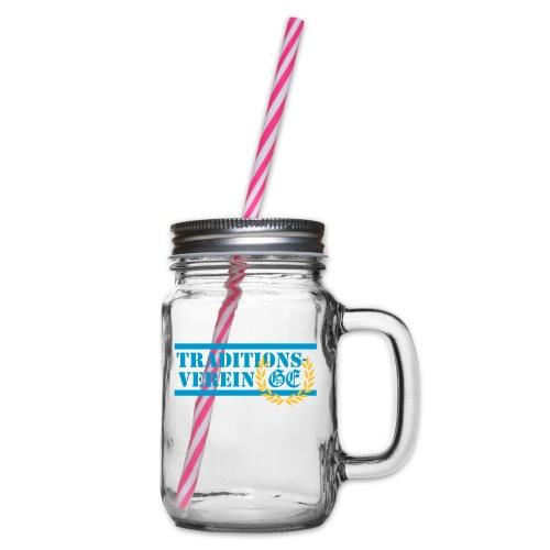 Traditionsverein - Henkelglas mit Schraubdeckel