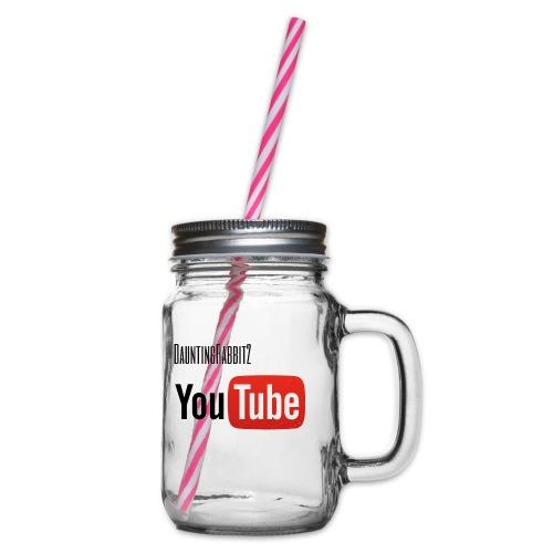 DauntingRabbit2 - Glas med handtag och skruvlock